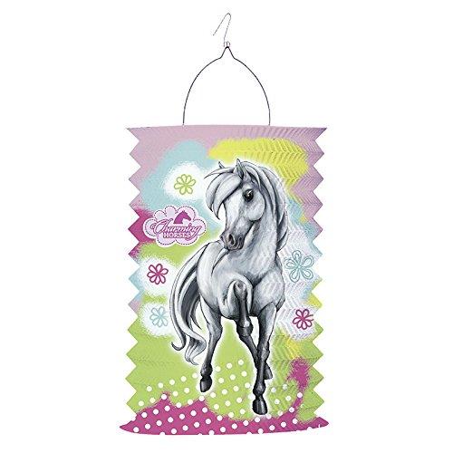 Amscan–150498–Laterne Pferde 2feuerbeständig