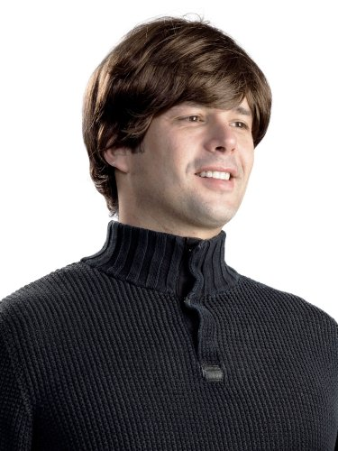 Enigma Wigs Men's Beatles G, Brown, One Size