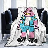 Ty-Ler - Manta de franela de forro polar para sofá, sala de estar, dormitorio