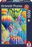 Schmidt Spiele 58286-Puzzle (1000 Piezas), diseño de Globos Cielo, Color carbón (58286)