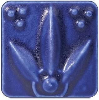 AMACO Lead-Free Satin Matte Glazes - Pint - SM-21 - Dark Blue - 9735541 E