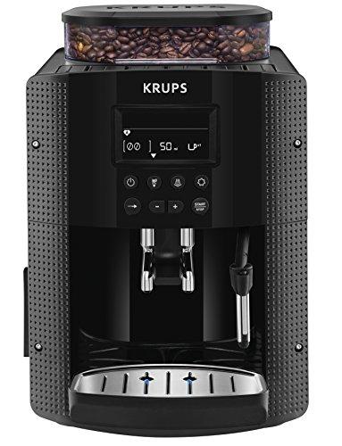 Krups EA8150freistehend vollautomatisch Maschine Espresso 1.7L 2Tassen schwarz–(freistehend, Maschine Espresso Kaffeemaschine, schwarz, Tasse, Tasten, LCD)