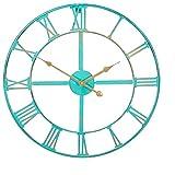 About Time™ Gartenuhr aus Metall in Antik-Optik