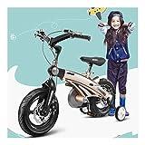 YiWu Función niños Bicicleta Plegable Bicicleta Infantil e