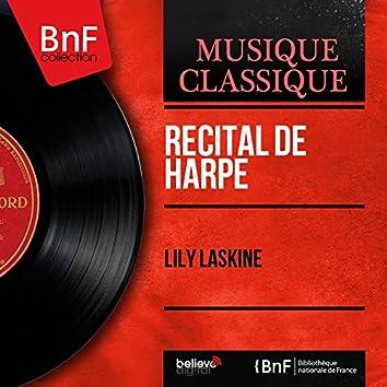 Récital de harpe (Stereo Version)