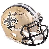Alvin Kamara New Orleans Saints Signed Autograph Speed Mini Helmet Fanatics Authentic Certified