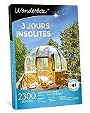 Wonderbox - Coffret cadeau - 3 JOURS INSOLITES - 2300 week-ends atypiques : yourtes, tipis