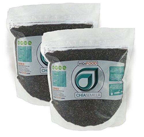 Graines de Chia Premières Naturelles - 2 x 1 kg -...
