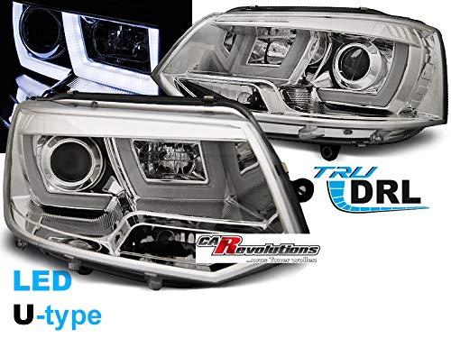 T5 GP Scheinwerfer Led Tagfahrlicht Light Tube in chrom U-Type 11/2009-06/2015