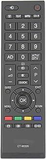 ALLIMITY CT-90326 Replace Remote for Toshiba TV 42RV635DB 40LV665DB 42AV635DB RV700A RV600A RV550A