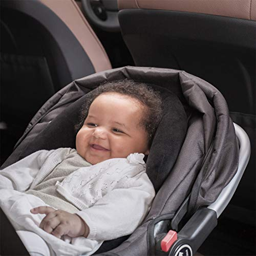 COOLBEBE Upgraded 3-in-1 Baby Head Neck Body Support Pillow for Newborn Infant Toddler - Extra Soft Car Seat Insert Cushion Pad, Perfect for Carseats, Strollers, Swing