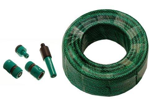 Green Garden tuyau d'arrosage renforcés 45M de longueur d'alésage 12mm Raccords