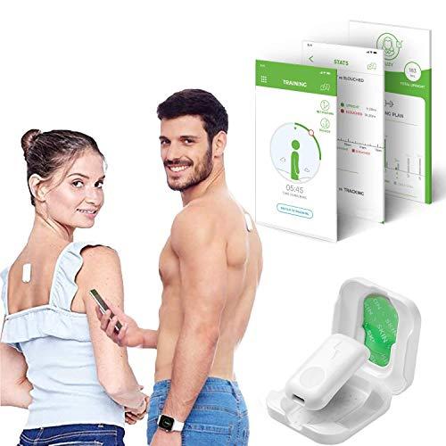 UPRIGHT GO 2 – Leichterer trägerloser Haltungstrainer zur Haltungskorrektur für Rücken, Körperhaltung und Fitness, elektronischer Geradehalter mit gratis iOS- und Android-App