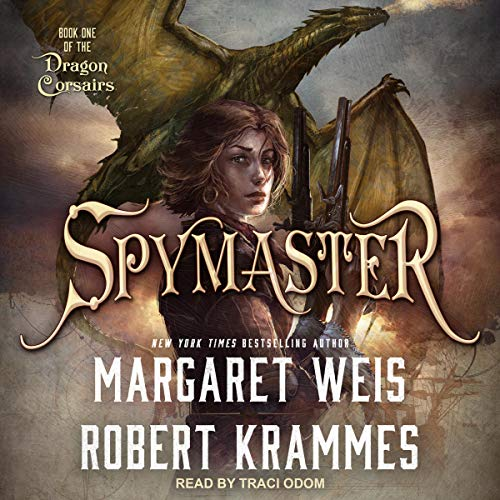 Spymaster audiobook cover art