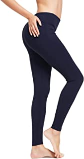 Women's Ankle Legging Athletic Yoga Hiking Workout Running Pants Inner Pocket Non See-Through Fabric