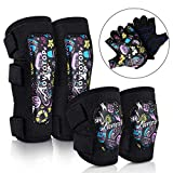 Best Elbow And Knee Pads - MOVTOTOP Kids Knee and Elbow Pads with Bike Review