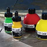 Liquitex Acrylic Ink Set Metallics - 6