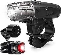 BRANDS自転車ライト高輝度LEDランプビーズの複数の点滅モードのUSB充電IPX5の防水360°回転ライト容易なインストールと取り外し可能なデザイン