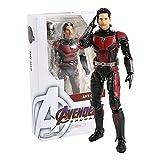 LANMEISM Figura de acción Capitán América/Viuda Negra/Thanos/Hombre Hombre PVC Figura de acción Modelo de colección Juguete (Color : Ant Man)