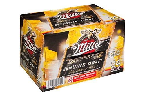Miller Cerveza en Botella 4.7º - Paquete de 24 botellas de 33 - Total 792 cl