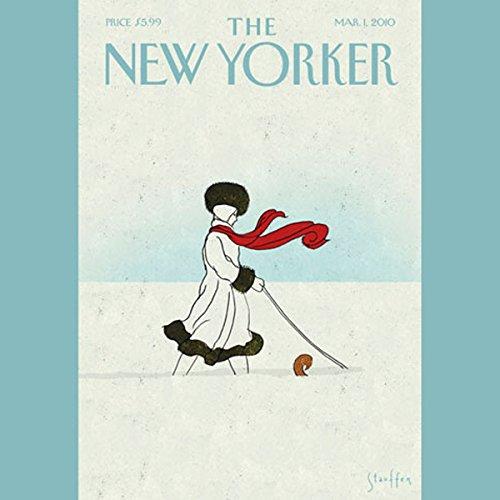 The New Yorker, March 1st, 2010 (Larissa MacFarquhar, Calvin Trillin, Steve Coll) cover art