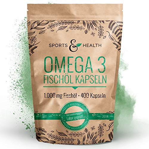 CDF Sports & Health Solutions Omega 3 – 400 Bild