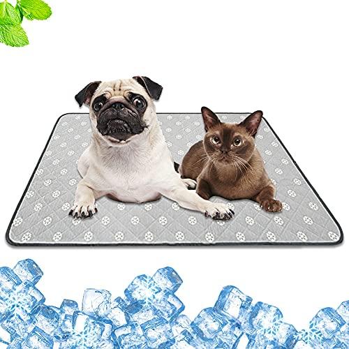 Dricar Tappetino rinfrescante per cani, cucciolo di cane, 100 x 70 cm, tappetino...