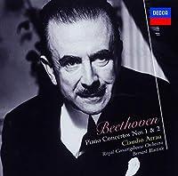 BEETHOVEN: PIANO CONCERTOS NOS.1 & 2(reissue) by Claudio Arrau
