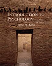 Introduction to Psychology by James W. Kalat (1995-11-03)