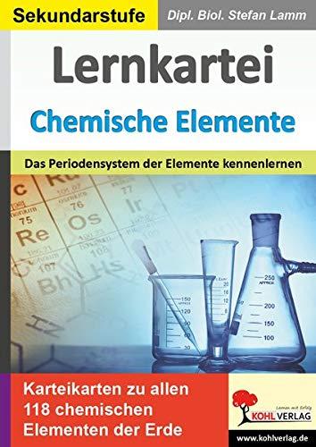 Lernkartei Chemische Elemente: Das Periodensystem der Elemente kennenlernen