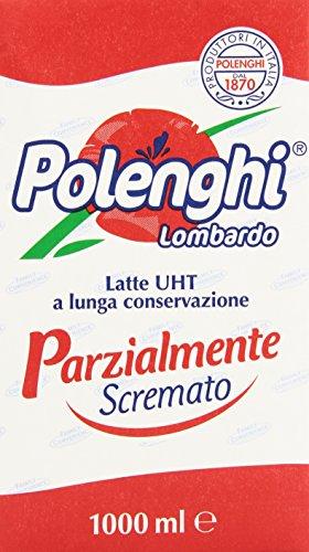 Polenghi - Parzialmente Scremato, Latte UHT A Lunga Conservazione , 1 l