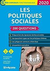 200 questions sur les politiques sociales de JEAN-MARC PASQUET