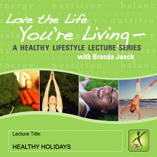 Healthy Holidays audiobook cover art