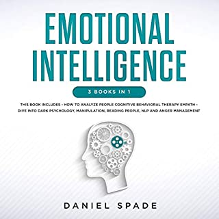 Emotional Intelligence: 3 Books in 1 audiobook cover art