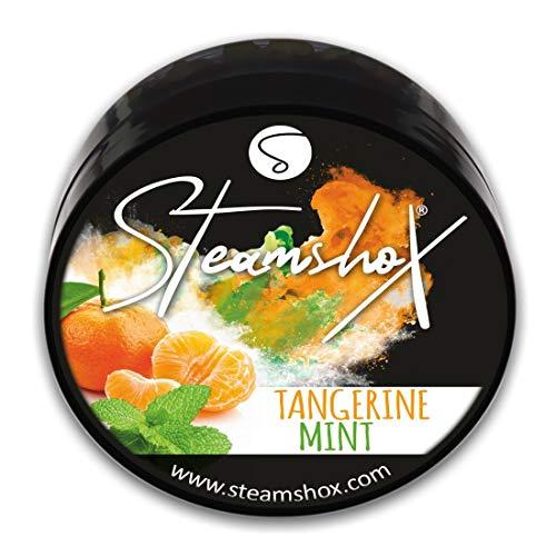 SteamshoX® Mandarina y Menta - Piedras de vapor para cachimba shisha narguile - Sustituto de tabaco sin nicotina