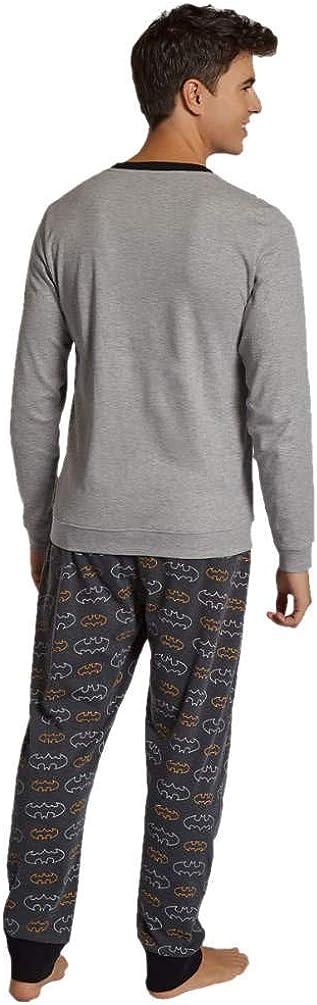 GISELA Pijama de Hombre Estampado de Batman 2//1760