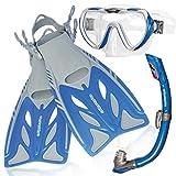 AQUAZON Barracuda kit de plongée, kit de nage, kit de...