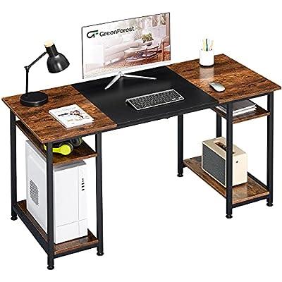 GreenForest Computer Desk 55 inch Home Office D...