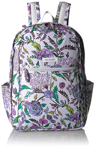 Vera Bradley Women's Lighten Up Grand Backpack, Lavender Botanical