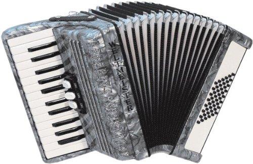 Campeones del Mundo Piano Acordeón Perla Negro