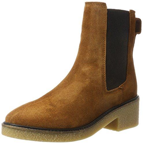 Tommy Hilfiger Damen M1285IA 3B2 Chelsea Boots, Braun (Winter Cognac), 41 EU