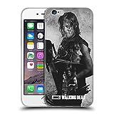 Head Case Designs Licenciado Oficialmente AMC The Walking Dead Daryl Doble Exposición Carcasa de Gel de Silicona Compatible con Apple iPhone 6 / iPhone 6s