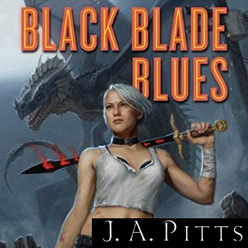 Black Blade Blues audiobook cover art