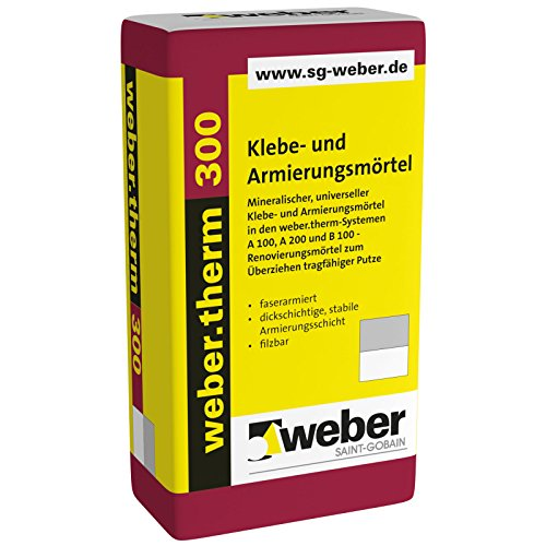 Weber.Therm 300 Klebe- und Armierungsmörtel mineralisch universell grau (1)