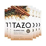 Tazo Black tea Classic Chai 20 Count, Pack of 6