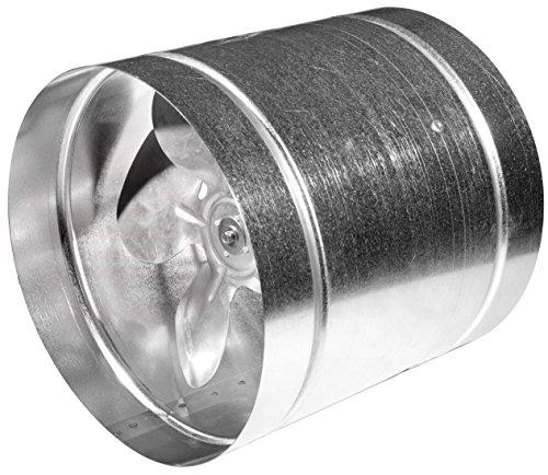 MKK Axial Rohrventilator Ø 160 mm Abluft Zuluft Rohrlüfter Radial Rohr Lüfter Absauglüfter Industrielüfter Absaugung