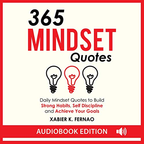 365 Mindset Quotes audiobook cover art