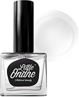 Little Ondine Non-toxic Zero Smell Wide Brush Matte Top Coat, Dries in 45 Seconds