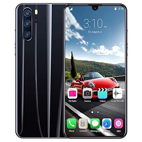 Smart Phone P36 Pro Teléfono móvil Android 9.1 OS Teléfono Inteligente Gota de Agua Pantalla Grande 6.3 Pulgadas Reconocimiento Facial 6GB RAM Memoria de Funcionamiento 128GB ROM Memoria Corporal