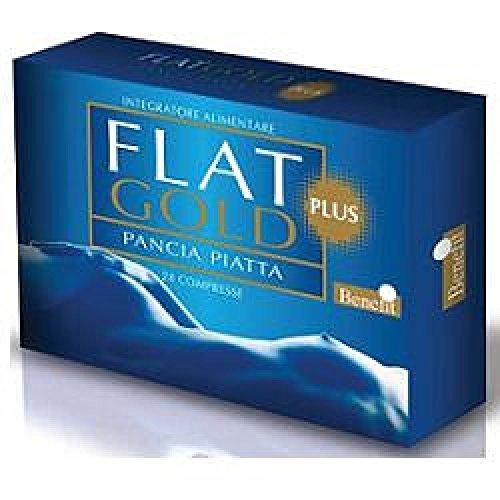 BENEFIT FLAT GOLD PLUS pancia piatta 24 compresse integratore alimentare
